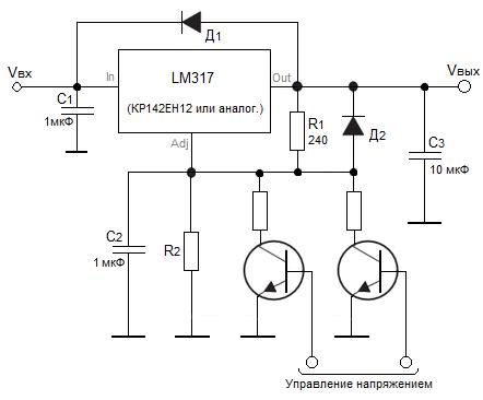 Интегральные стабилизаторы на фиксированное напряжение обозначение на электрической схеме стабилизатора напряжения